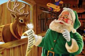 Babbo Natale verde